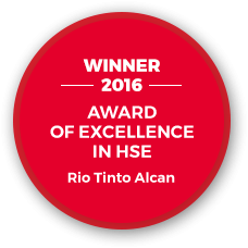 Award of excellence in HSE 2016
