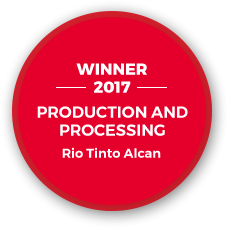 Award winner 2017 Production and processing Economic Merit Gala